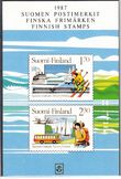 1987 Finnish stamps/ set