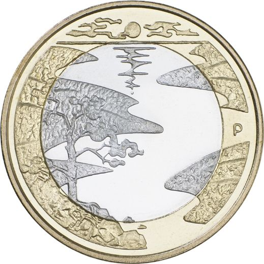 Finland 5 euro 2013 Northern Nature - Summer  ( UNC )