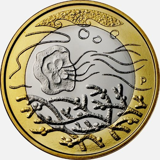 Finland 5 euro 2014 Northern Nature - Waters ( UNC )