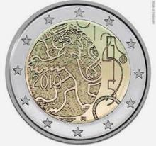 Finland 2 euro 2010 cc 150 years of Finnish currency ( UNC )
