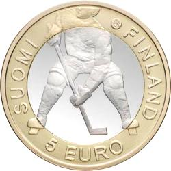 5 Euro 2012  Ice hockey world championships ( UNC )