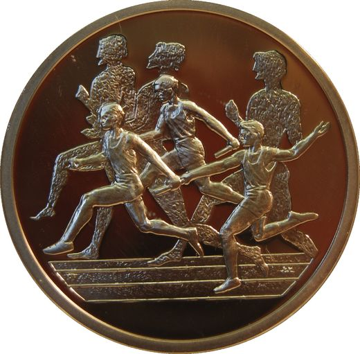 Greece 10 Euro 2003 KM-196 ( PROOF ) Relay Race)