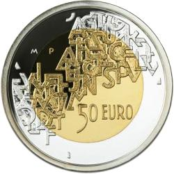 Finland 50 euro 2006 KM-133 ( PROOF 00 ) Finland presidency of european Union 2006