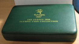 2000 Sydney 2000 Olympic collection ( Gold and silver coins ) PROOF  Tod + laatikko / Certificat + box.
