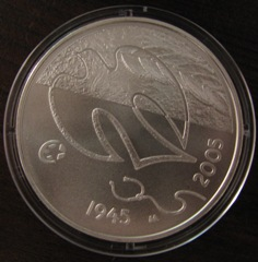 10 Euro 2005 ( BU ) 60 years of peace