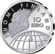 10 euro 2002 50th anniversary- Helsinki olympics ( BU ) In case