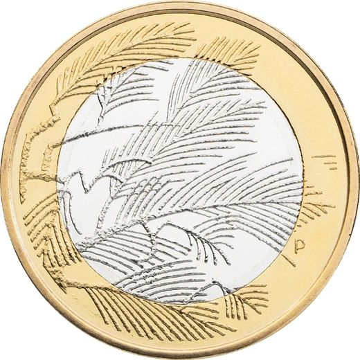 Finland 5 euro 2014 Northern Nature - Wilderness ( UNC )