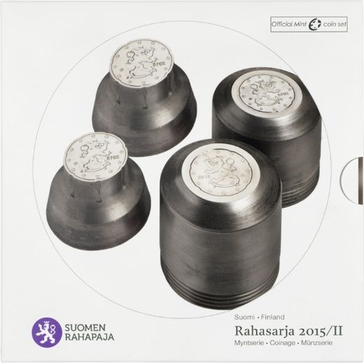 Finland coin set 2015 II ( BU )