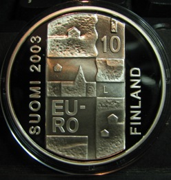 10 euro 2003 Anders Chydenius ( PROOF ) In case