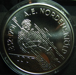 10 euro 2007 A.E Nordenskiöld and the North-East passage ( PROOF ) In case