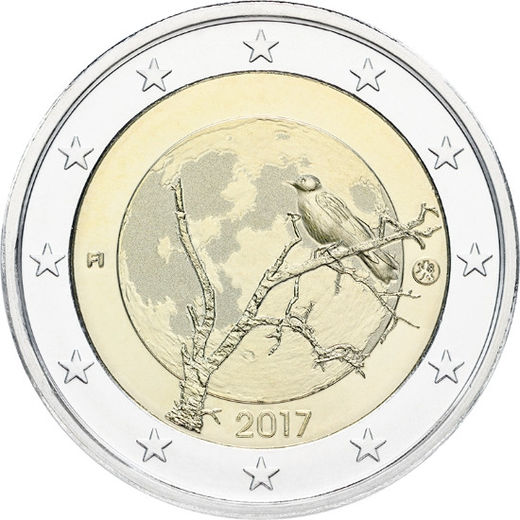 2 Euro 2017 Finnish nature ( UNC )