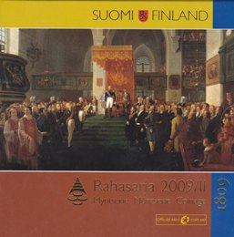 Finland Coin set 2009 II The diet of Porvoo 200 Years ( 01-0 )