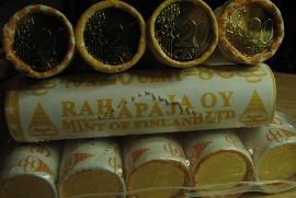 Finland 20 Cent 2005  Mint of Finland coins roll