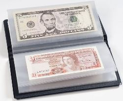 LEUCHTTURM  Pocket album to banknotes