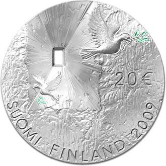 Finland 20 Euro 2009 Peace and Security ( BU )