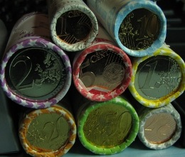 Finland 2015 1 cent, 2 cent , 5 cent , 10 cent , 20 cent , 50 cent , 1 €, 2€ All mint of Finland rolls in 2015 ( UNC )