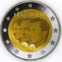 Luxembourg 2 euro 2011 Jean de Luxembourg ( UNC )