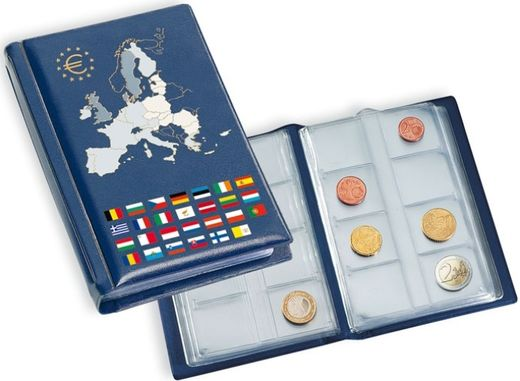 LEUCHTTURM Pocket album to eurocoins