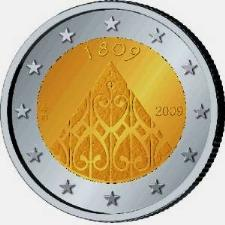 Finland 2 euro 2009cc The diet of Porvoo 200 Years  ( PROOF ) in capsule