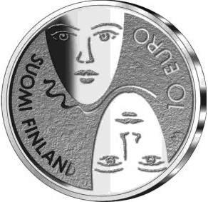 10 euro 2006 100th Anniversary of the Finnish Parliamentary ( BU )