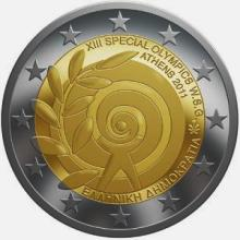 Greece 2 euro 2011cc Greece Special Olympics ( UNC )