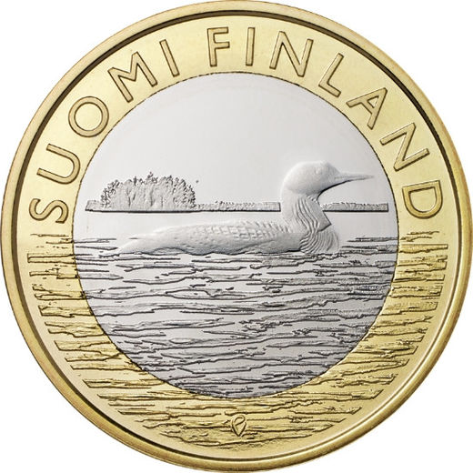 5 euro 2014 Animals of the Provinces – Savonia ( UNC )