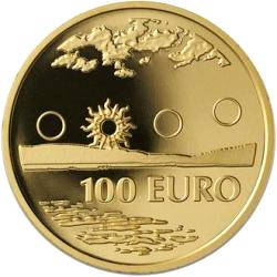 Finland 100 Euro 2002 KM-109  Midnight sun ( PROOF 00 )