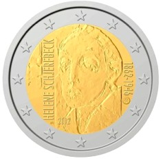 Finland 2 euro 2012cc ( UNC ) Helene Schjerfbeck