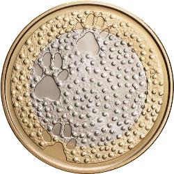 5 Euro 2012  NOTHERN NATURE - Fauna ( UNC )
