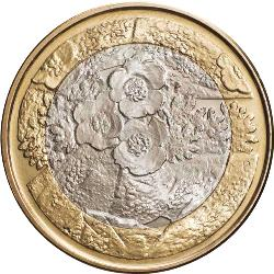5 Euro 2012  NOTHERN NATURE - Flora ( UNC )