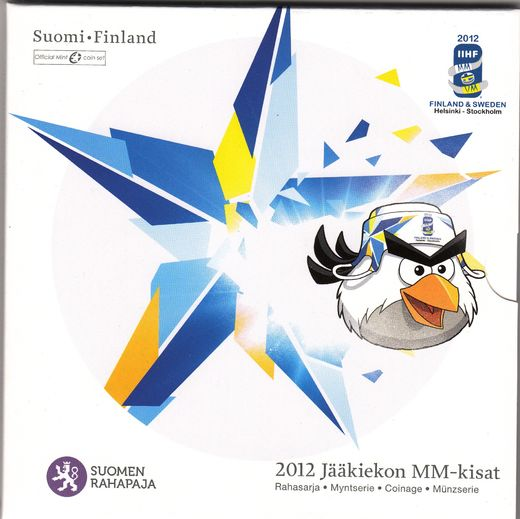 Finland coinage 2012 Ice Hockey World Championship ( BU )