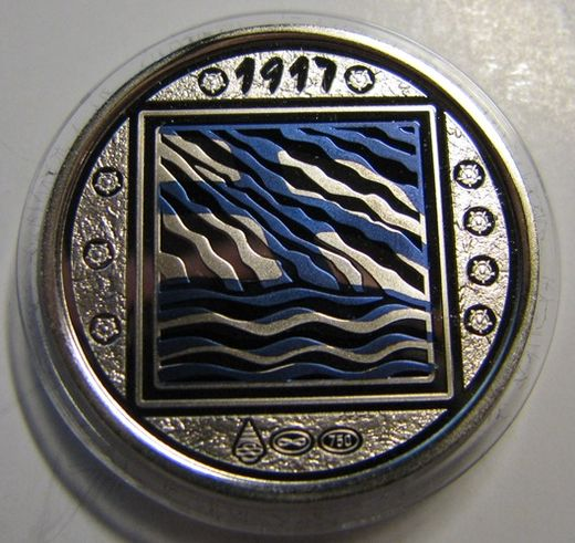 Finland's first whitegold medal ( PROOF )
