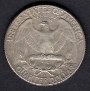 USA 1/4 Dollars 1964 D  KM-164 ( VF )  Hopeaa