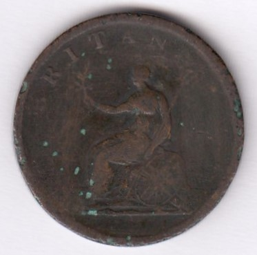 Great-Britain 1 penny 1806 KM-663 ( P )