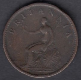 Great-Britain 1 farthing 1807 KM-661 ( VF )