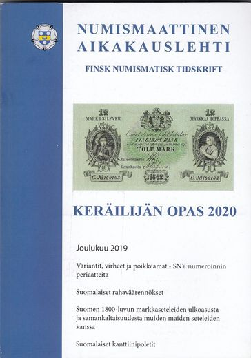 COLLECTOR´S GUIDE FINNISH COINS AND BANKNOTES AND THEIR VALUES 2020
