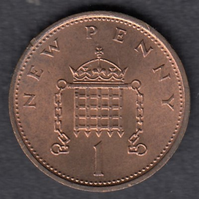 Great-Britain 1 New Penny 1971 KM-915 ( AUnc )