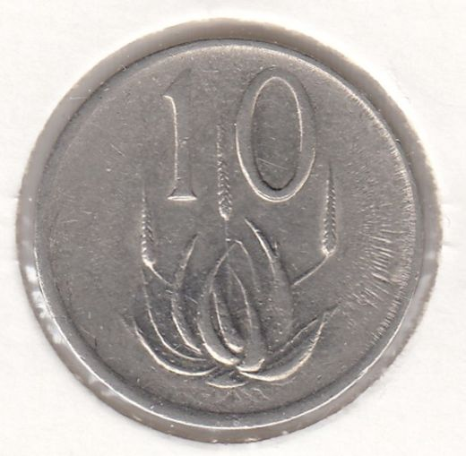 South-Africa 5 cents 1984 KM-65 ( VF )
