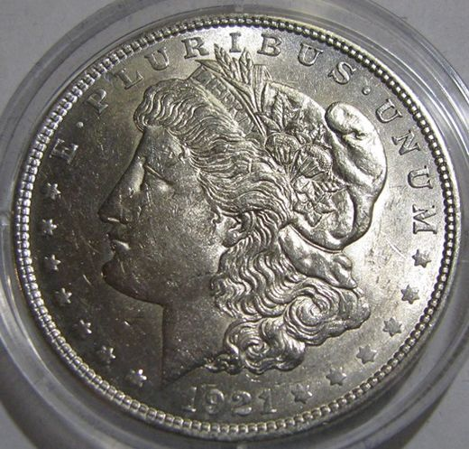 US 1 Dollar 192 KM-110 ( XF ) MORGAN DOLLAR