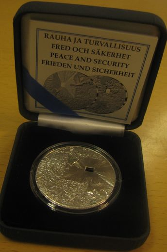 20 Euro 2009 ( PROOF ) Peace and Security Original box and certificat