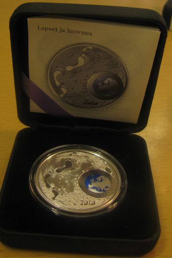 20 euro 2010 ( PROOF ) Children and creativity Original box with certificate